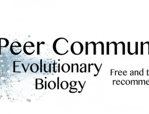 Peer Community in Evolutionary Biology (PCI Evol Biol) launched
